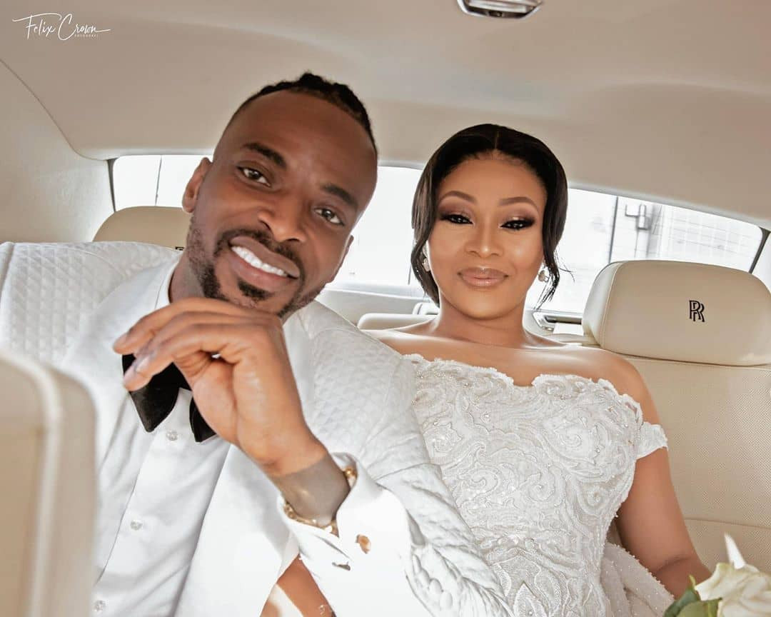 """Save my marriage""- Singer, 9ice cries out after a video of him caressing a lady's b**bs in a hotel leaked online (Video)"