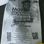 Nigerian Police threaten to Close Down Afrika Shrine over #EndSars - Seun Kuti