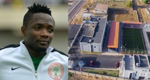 Ahmed Musa builds