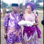 Pregnant Nigerian lady allegedly marries an old man after man who got her pregnant Runaway (photos)