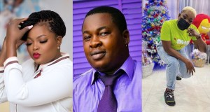 Comic actor, Babatunde Bernard popularly known as Baba Tee, has given a rare shoutout to Nollywood actress, Funke Akindele-Bello, for bringing him to the limelight.