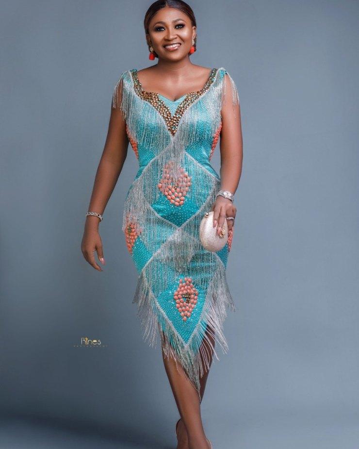 Mary Njoku celebrates
