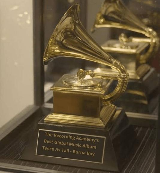 Burna Boy's Grammy