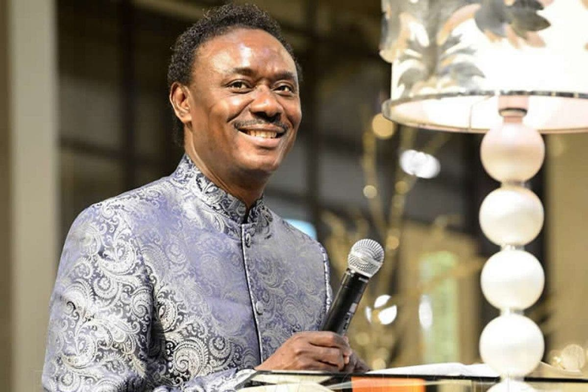 Pastor Chris Okotie shares