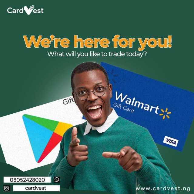 CardVest gift card