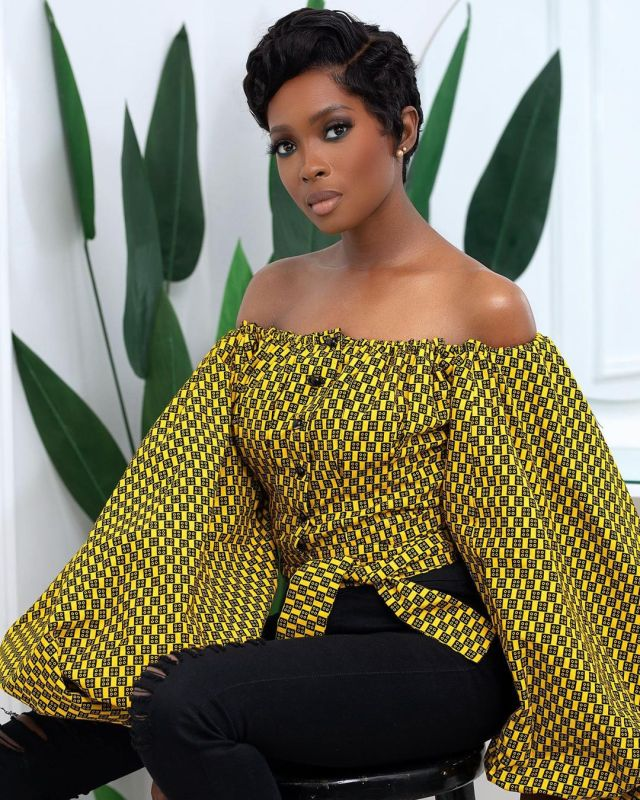 Jemima Osunde falls