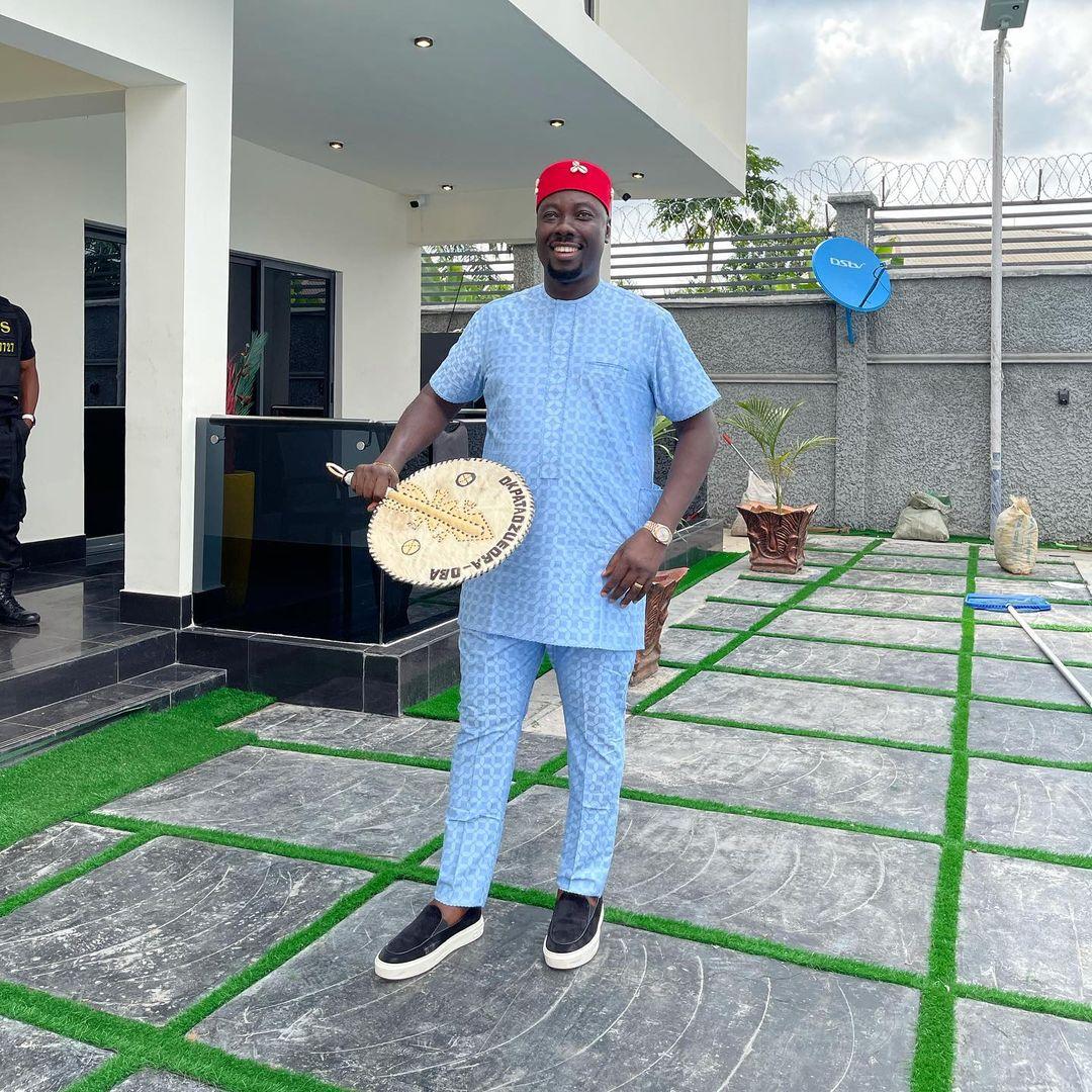 Quick Look At Nigerian Socialite Obi Cubana's Biography & Net worth