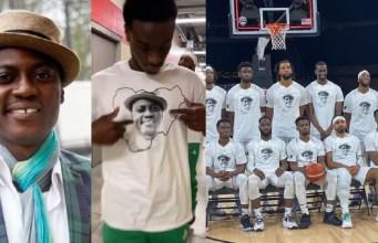 Nigerian Basketball team honor