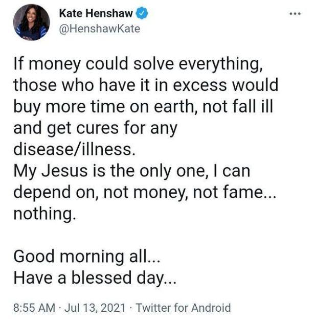 Actress, Kate Henshaw