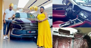 Angela Nwosu receives