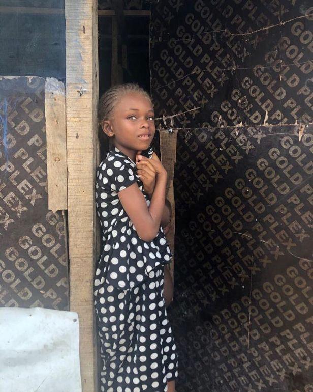 Homeless Nigerian girl becomes