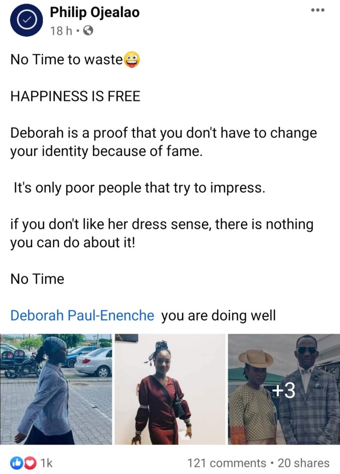 Pastor Paul Enenche's daughter causes