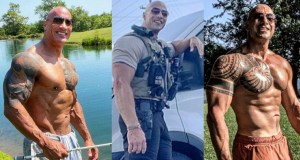 'The Rock' reacts
