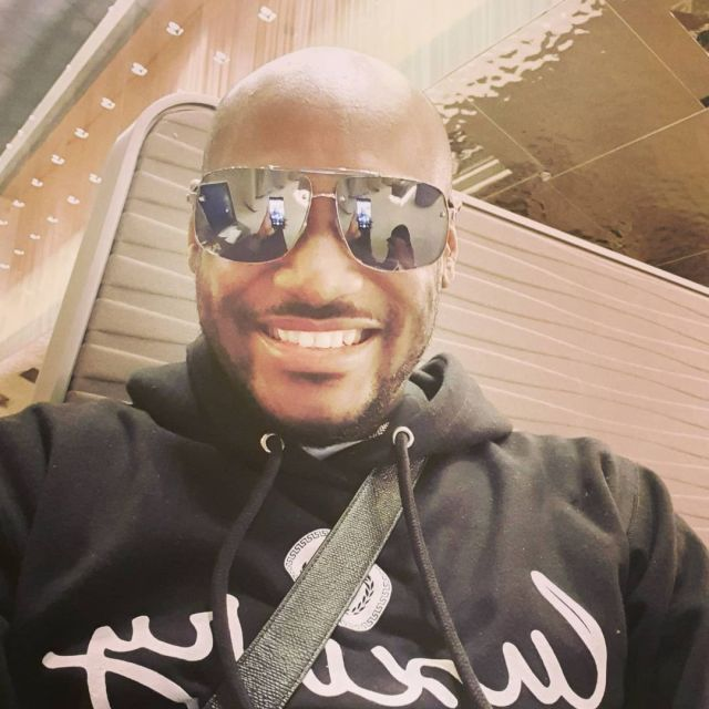 """""""Are you a vampire? You would be looking as if you are 19 years old"""" - 2face Idibia's daughter comments on his ageless look (Video)"""