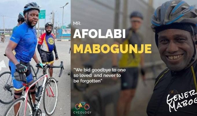 Nigerian Cyclist dies