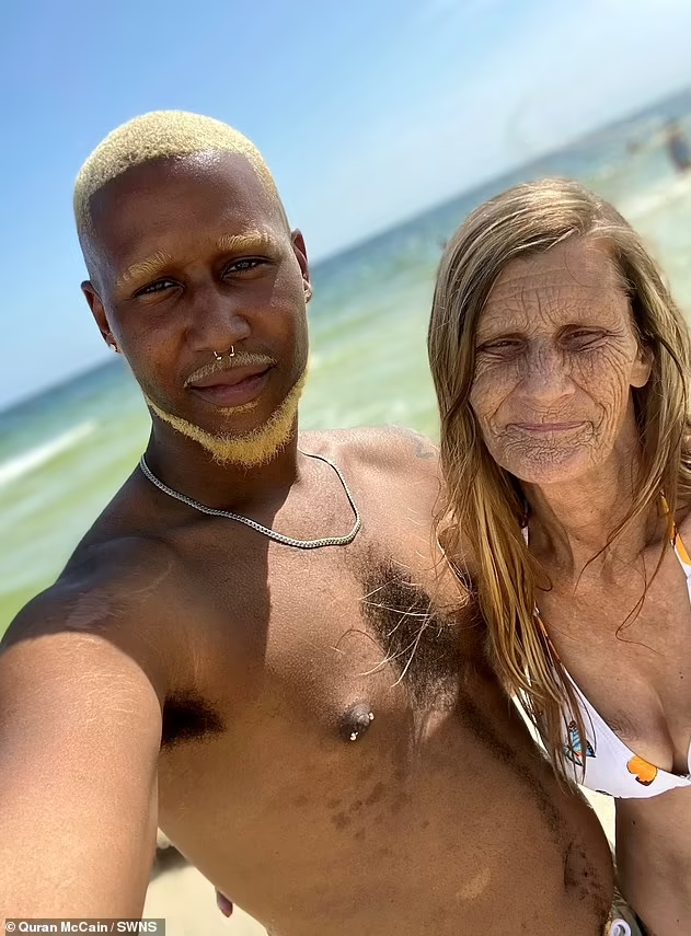 61-year-old grandma wed