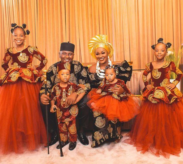 Chacha Eke Faani family