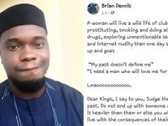 Nigerian man tells