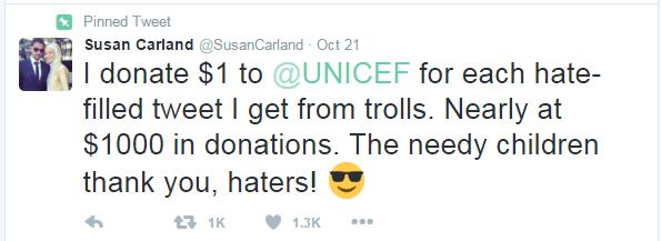 tweet susan carland