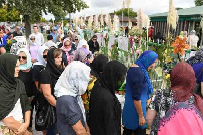 #headscarfforharmony nouvelle zélande peuple hijab vendredi
