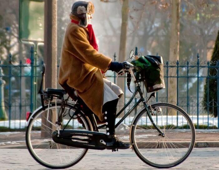 Posisi Bersepeda Klasik - Dutch Bike