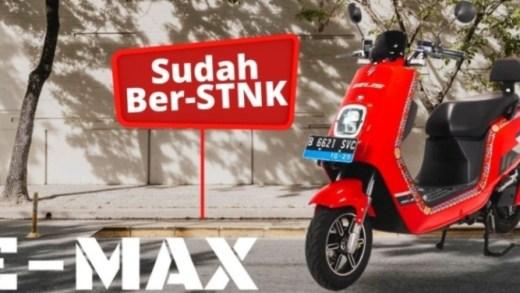 Selis E-Max - Sudah ber-STNK