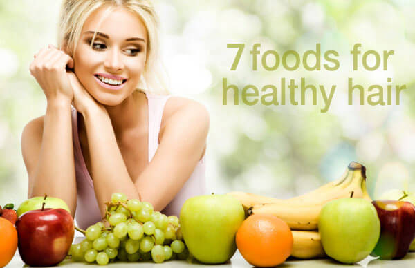 Seven foods for healthy hair
