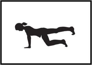Donkey Kick Exercises for Firmer Buttocks