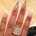 Nicki Minaj nails