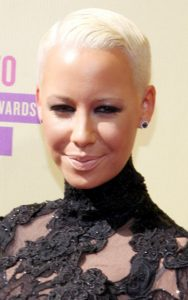 Short and stunning hair styles  Of Amber Rose Hair