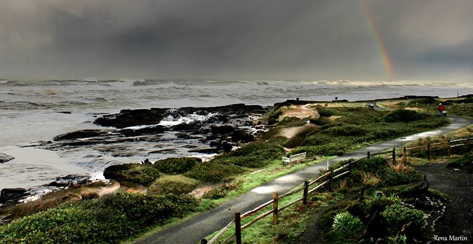 Yachats 804 Trail, Smelt Sands State Park by Rena Martin