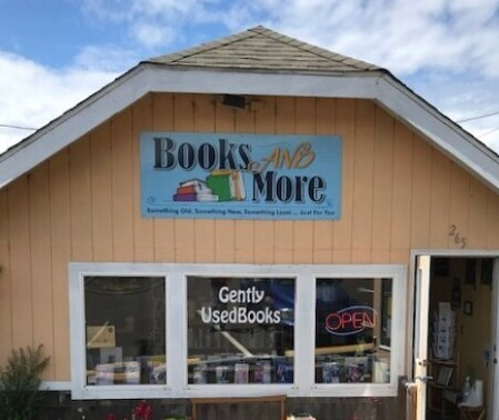 Books and More Exterior, Yachats, OR