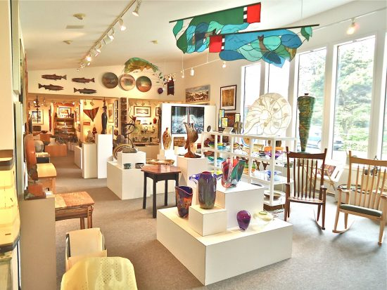 Earthworks Gallery, Yachats, OR