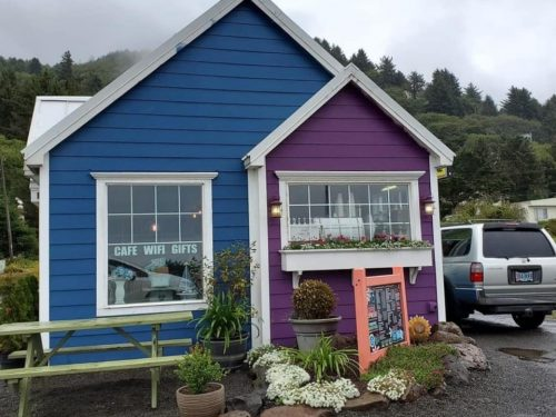 The Village Bean Drive-Thru Coffee Shop, Yachats, OR