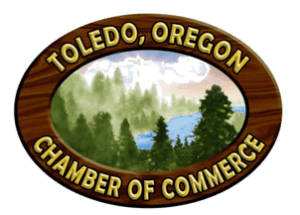 Toledo Chamber of Commerce Logo, Toledo, OR