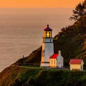 Heceta Lighthouse Gift Shop, Yachats, Florence, OR