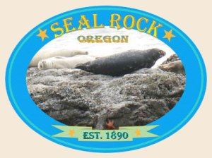 Seal Rock Logo, Seal Rock, OR