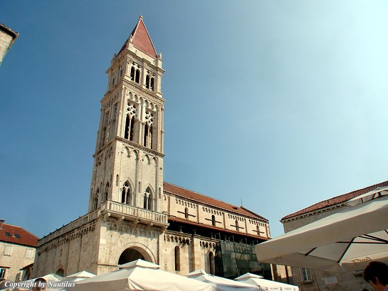 CHARTER IN CROATIA Trogir Cathedral With Radovan Portal