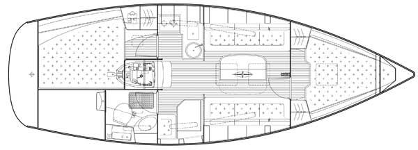 Yachtcharter Bavaria 31 Cruiser 2008 Biograd na moru