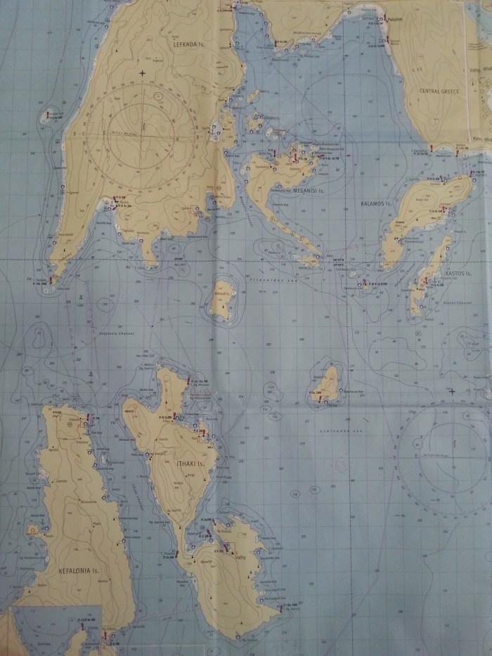 Map of Lefkada 2