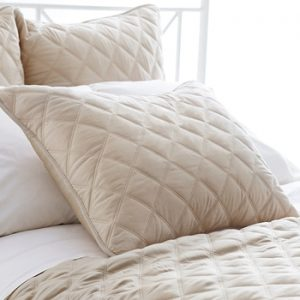 Quilted Silken Coverlet - Sand