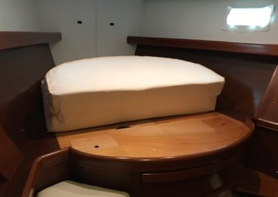 Beneteau 473 Custom Mattress with hinge