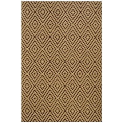 Diamond Brown Khaki Indoor Outdoor Rug