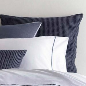 Red Land Navy Hotel Sheet Set