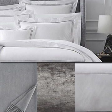 Sferra Grand Hotel Duvet Grey White Package
