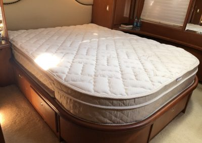 Silverton 48 Convertible 9 inch latex pillow top mattress