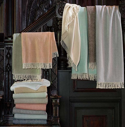Sferra Celine Throw Blankets