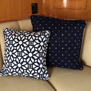 Boat Pillows & Throws
