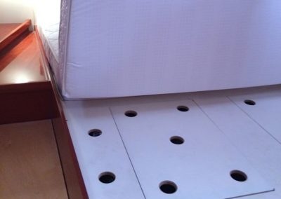 Custom Boat Mattress Hinge