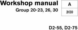 Workshop Manual D2-55 D2-75